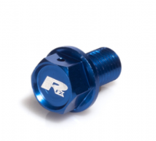 RFX Magnetic Drain Bolt (Blue) [M12 x 15mm x 1.25] Honda CR85 03-07 CR125/250 02-07 Yamaha YZ250 97-